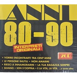 COFANETTO ANNI 80-90 INTERPRETI ORIGINALI 8028980665592