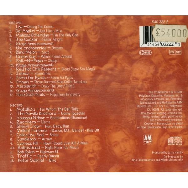CD Woodstock 94 (doppio album) 731454032223