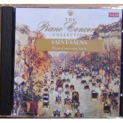 CD THE PIANO CONCERTO COLLECTION SAINT-SAENS VOL.20 5028421668208