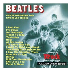 CD BEATLES LIVE IN STOCKHOLM 1963 - LIVE IN USA 1964-65