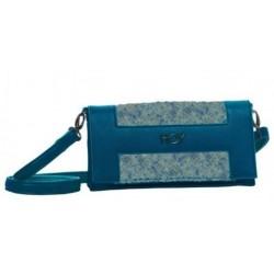 BORSA HOY SEVEN BOUCLÉ TRACOLLA colore azzurro collezione 2018 8011410275928