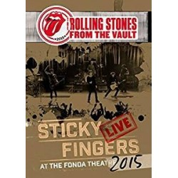 DVD ROLLING STONES FROM THE VAULT STICKY FINGERS LIVE AT THE FONDA THEATRE 2015 5034504129375