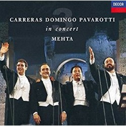 CD CARRERAS DOMINGO PAVAROTTI IN CONCERT 028943043328