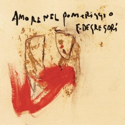 CD FRANCESCO DE GREGORI AMORE NEL POMERIGGIO 5099749989399