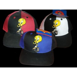 Cappelli Warner Bros originali Inter, Juventus, Milan Bimbi Titty Tweety