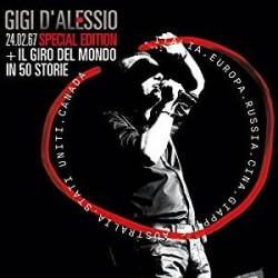 CD GIGI D'ALESSIO 24.02.67 SPECIAL EDITION + IL GIRO DEL MONDO IN 50 STORIE 889854745820