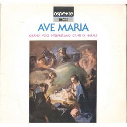LP AVE MARIA GRANDI VOCI INTERPRETANO CANTI DI NATALE