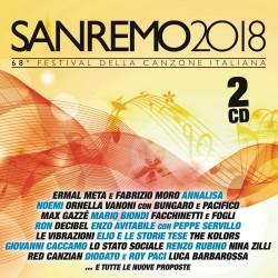 CD SANREMO 2018 68° FESTIVAL DELLA CANZONE ITALIANA 889854989729