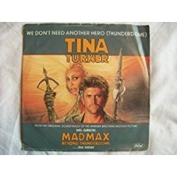 """LP 12"""" TINA TURNER WE DON'T NEED ANOTHER HERO (THUNDERDOME) EXTENDED MIX"""