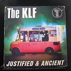 "LP 12"" THE KLF JUSTIFIED & ANCIENT 078221240314"