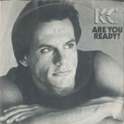 """LP 45 GIRI 7"""" KC ARE YOU READY?/DON'T LET GO"""