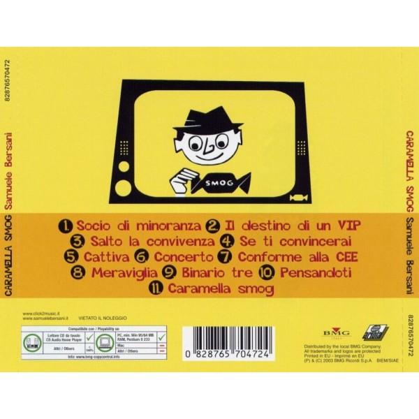 CD Samuele Bersani- caramella smog