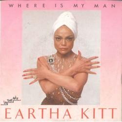 "LP 45 GIRI 7"" EARTHA KITT WHERE IS MY MAN"