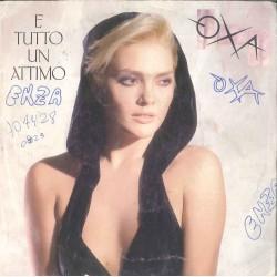 """LP 45 GIRI 7"""" ANNA OXA E' TUTTO UN ATTIMO"""