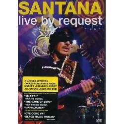 DVD SANTANA LIVE BY REQUEST 828767065090