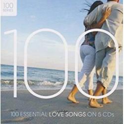 CD 100 ESSENTIAL LOVE SONGS ON 5 CD 602498376669