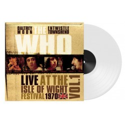 """LP 12"""" THE WHO LIVE AT THE ISLE OF WIGHT FESTIVAL 1970 VOL. 1 RSD 803343163247"""